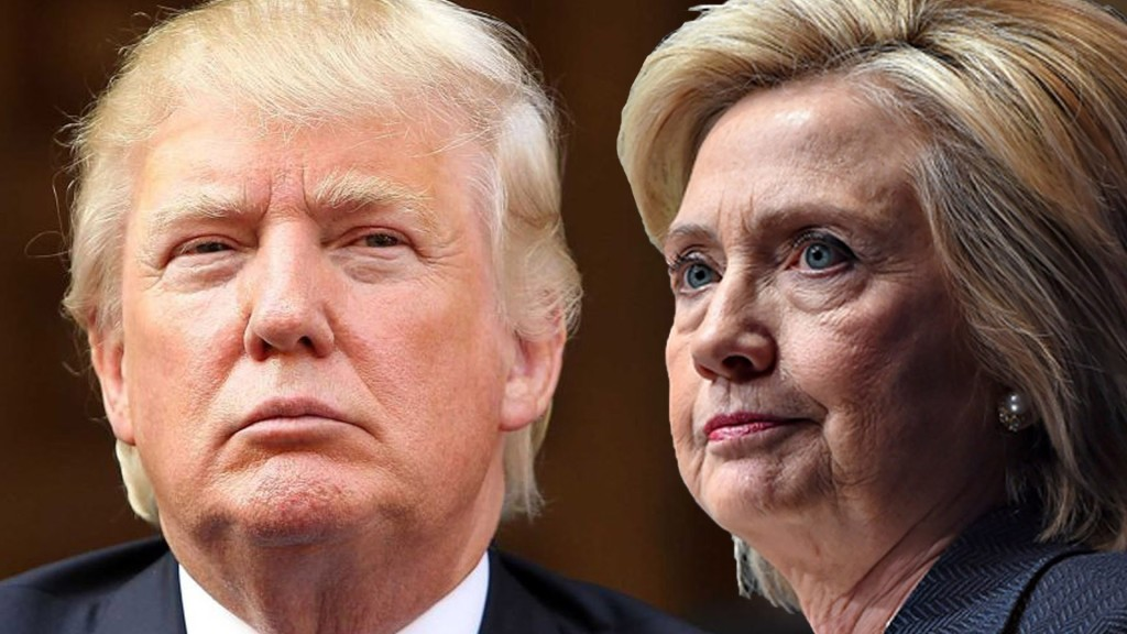 Donald Trump y Hillary Clinton