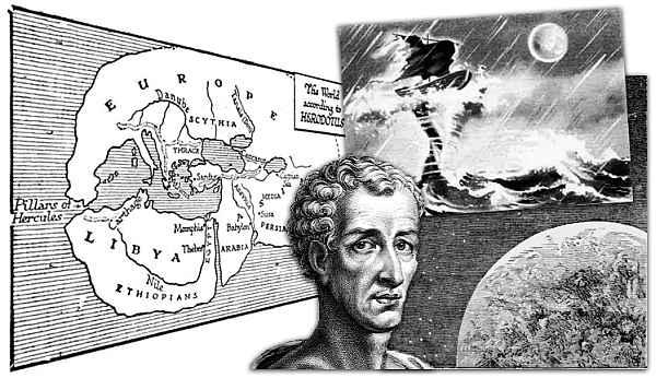En su obra, Historia verdadera, Luciano imaginó el primer viaje a la luna.