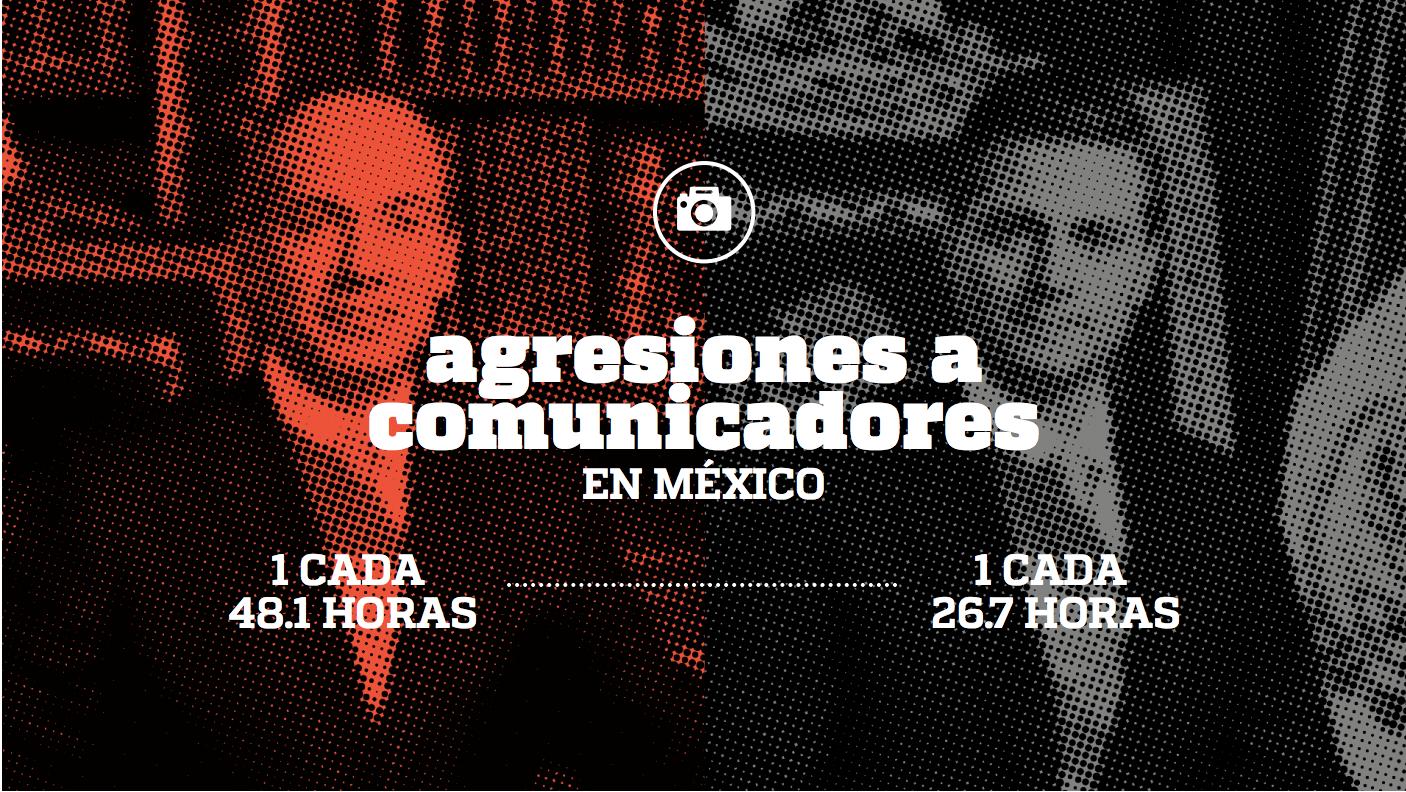 Periodistas asesinados en los gobiernos de Felipe Calderón y Enrique Peña Nieto. Imagen: Artículo 19