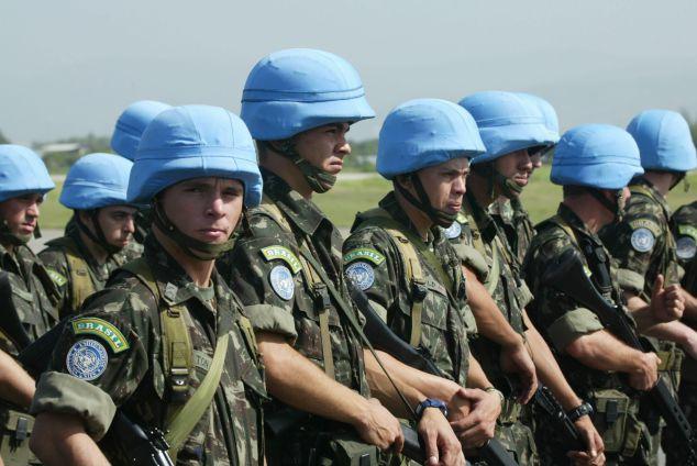 Soldados de la ONU en Haití. Foto: Internet