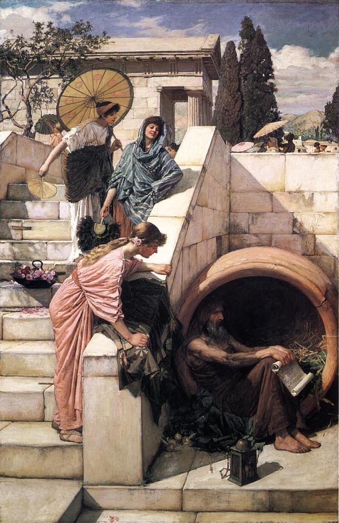 Alegoría de las prostitutas en una época anterior a Luciano de Samosata. Foto: Internet