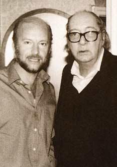 Eduardo Galeano y Juan Carlos Onetti.