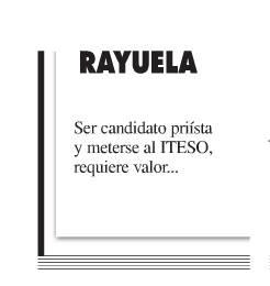 Una de las últimas Rayuelas del diario La Jornada Jalisco.