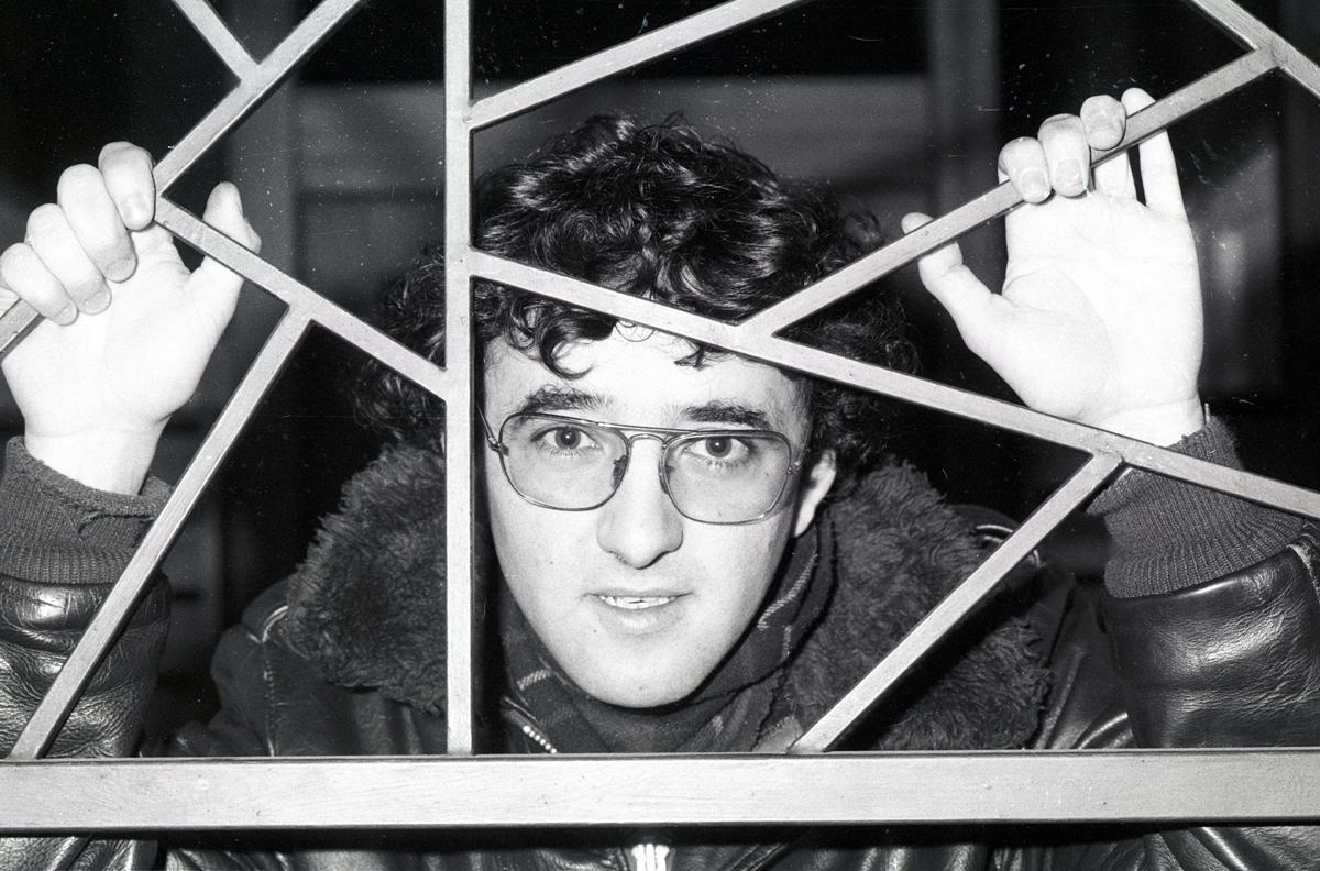 El escritor Roberto Bolaño.