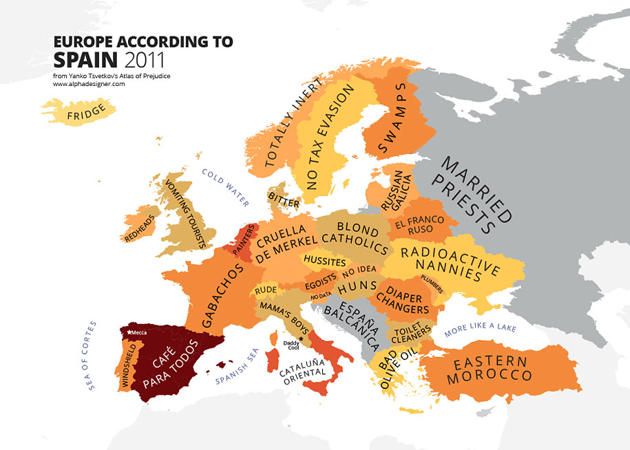 Europa según España