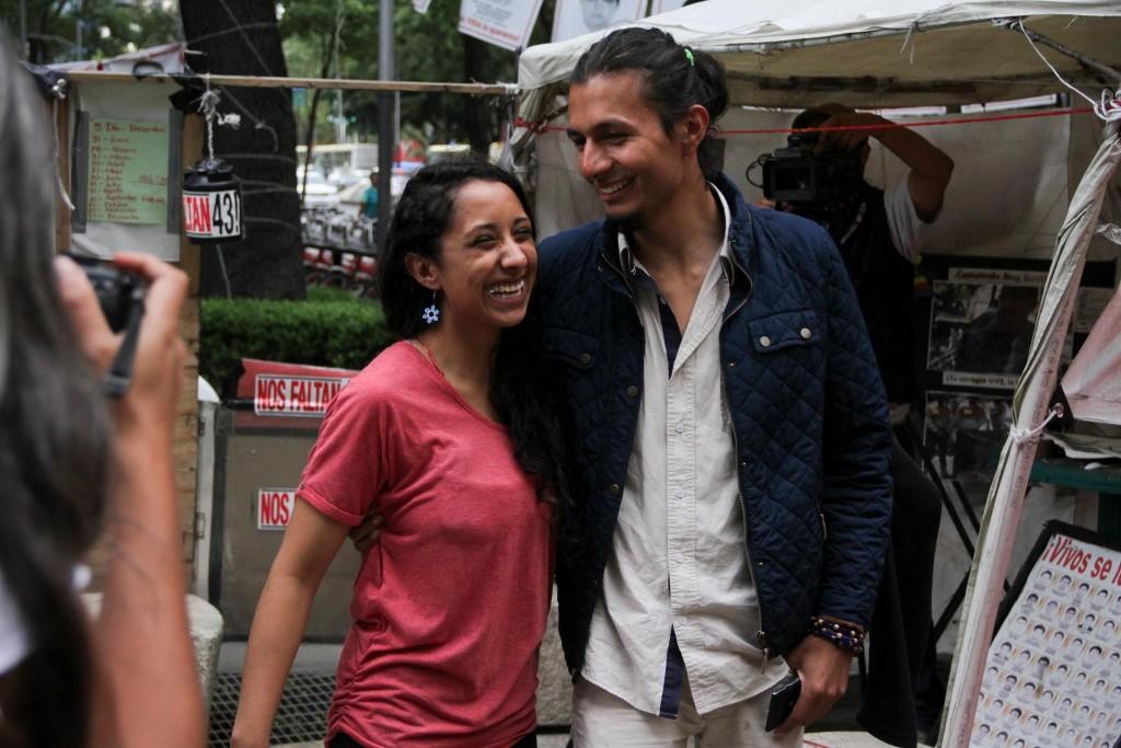 Bryan Reyes y Jacqueline Santana. Foto: Agencia Cuartoscuro