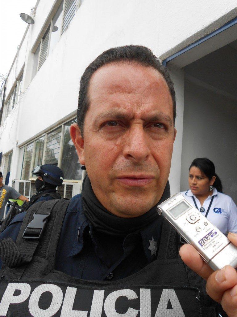 El secretario de Seguridad de Veracruz, Arturo Bermúdez Zurita, quien ha ameanzado a periodistas y es el sospechoso de mandar asesinar a Rubén Espinosa.