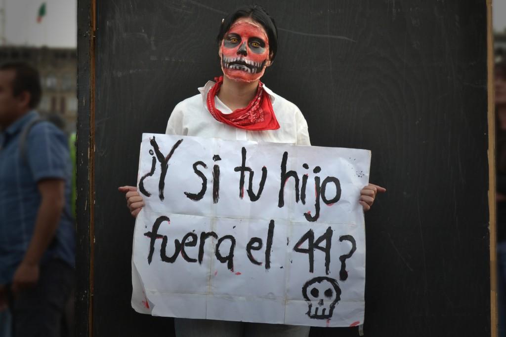 Marcha por Ayotzinapa. Foto: Alex Torres/Flickr