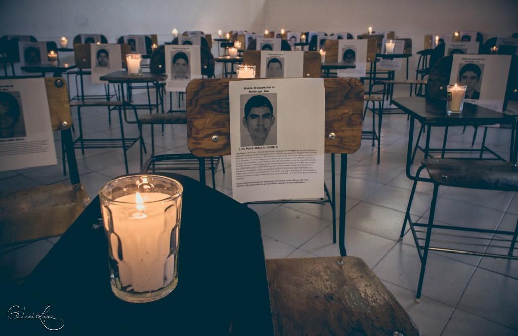 Ayotzinapa. Foto: Uriel López/Flickr