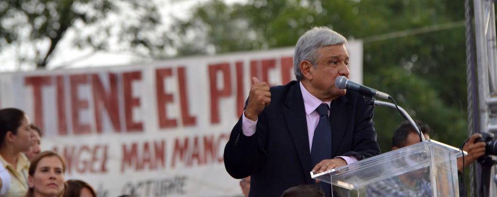 Andrés Manuel López Obrador. Foto: Citlalli Hernández/Flickr