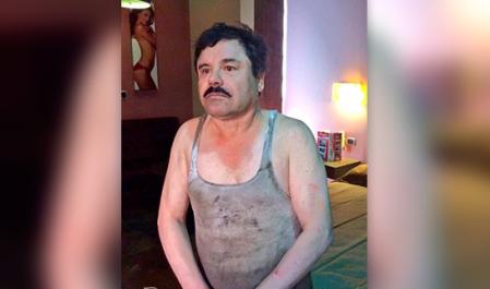"""La """"recaptura"""" del Chapo: el montaje mediático de EPN"""