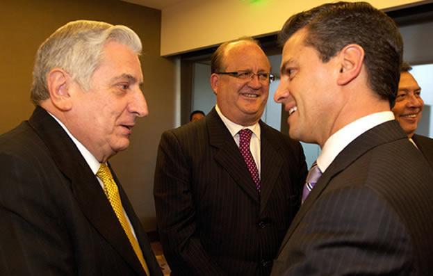 Peña Nieto y Arturo Nuñez. Foto: Internet