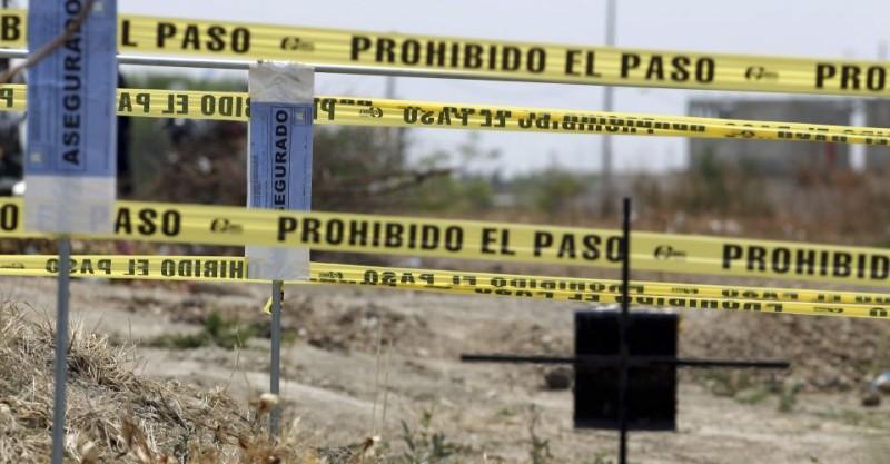 Fosas clandestinas en Tetelcingo, Morelos. Foto: Animal Político