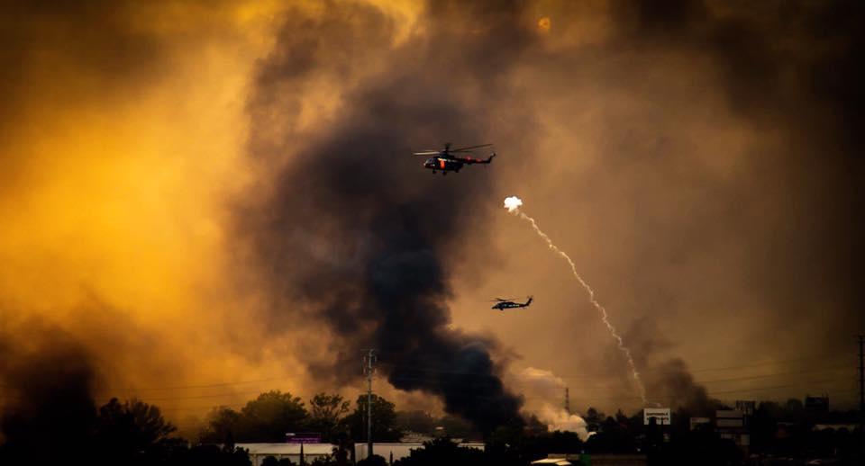La guerra en Oaxaca. Foto: José Carlos Dávila