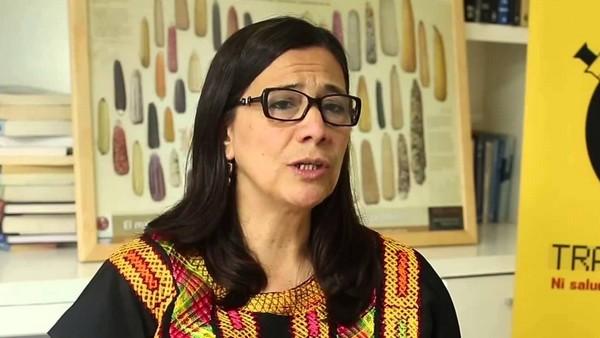 Adelita San Vicente, fundadora de la Alianza en Defensa del Maíz. Acaba de obtener un fallo histórico que prohibe el maíz transgénico.