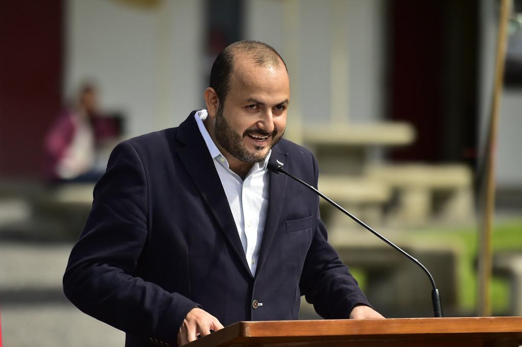 El rector del CUTonalá y ex candidato del PRI a Guadalajara, Ricardo Villanueva Lomelí. Foto: UdeG