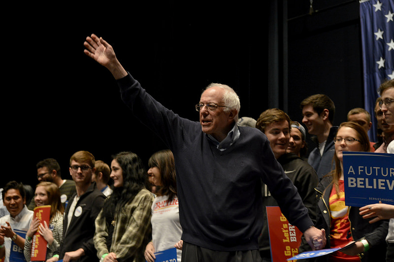 Bernie Sanders. Foto: aj.hanson1/Flickr