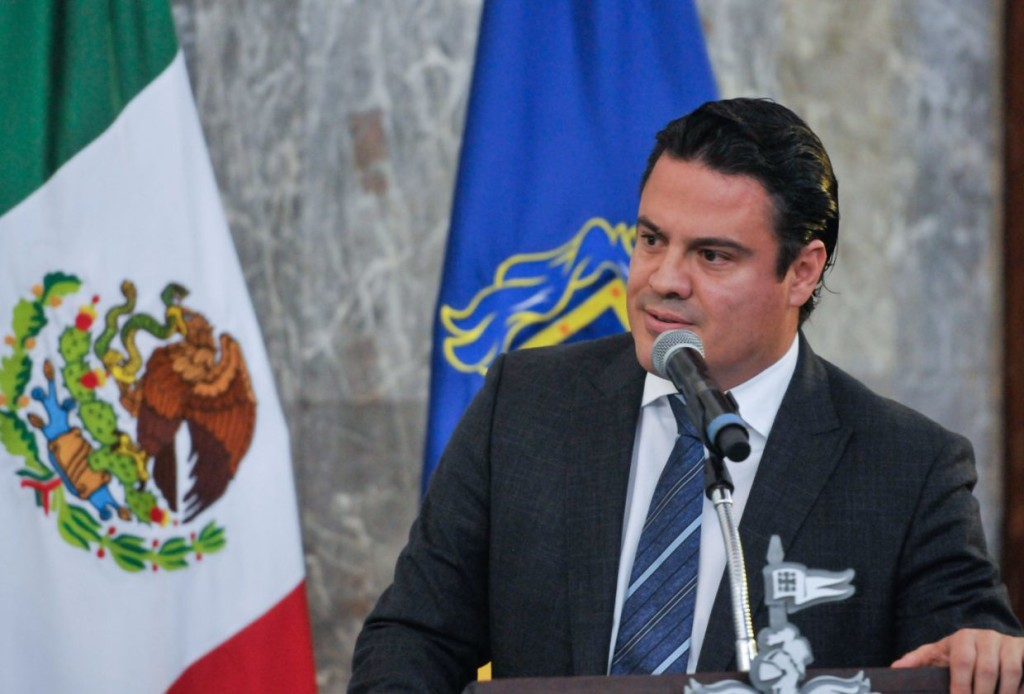 El gobernador Aristóteles Sandoval Díaz. Foto: Gobierno de Jalisco