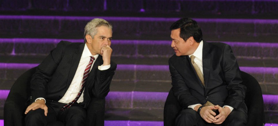 Miguel Ángel Mancera y Osorio Chong. Foto: Internet