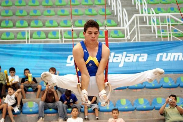 El gimnasta Jaime Humberto Romero Moran. Foto: Internet