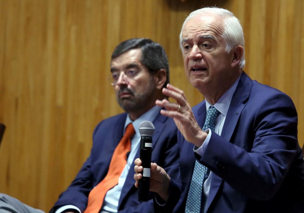 Pedro Aspe Armella, secretario de Hacienda en el sexenio de Carlos Salinas de Gortari. Foto: Adriana González/UdeG