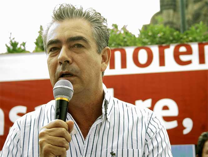 El ex presidente de Morena Jalisco, Humberto Ortiz.