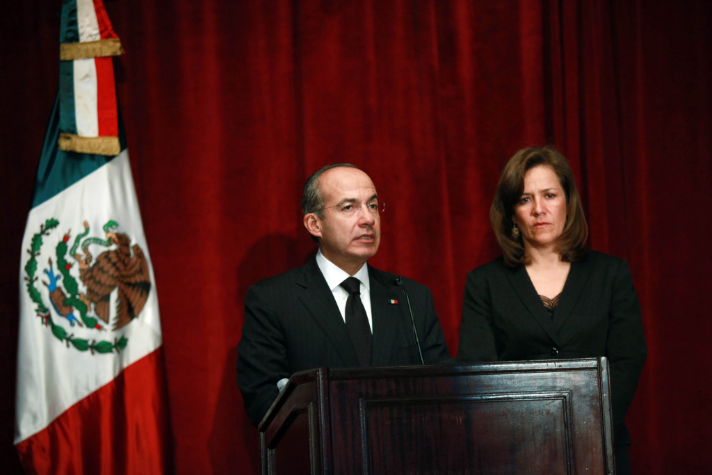 Felipe Calderón y Margarita Zavala. Foto: Especial