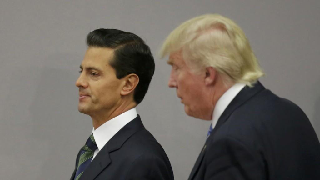 Peña Nieto y Donald Trump