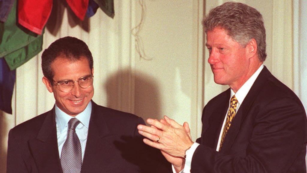 Ernesto Zedillo y Bill Clinton.