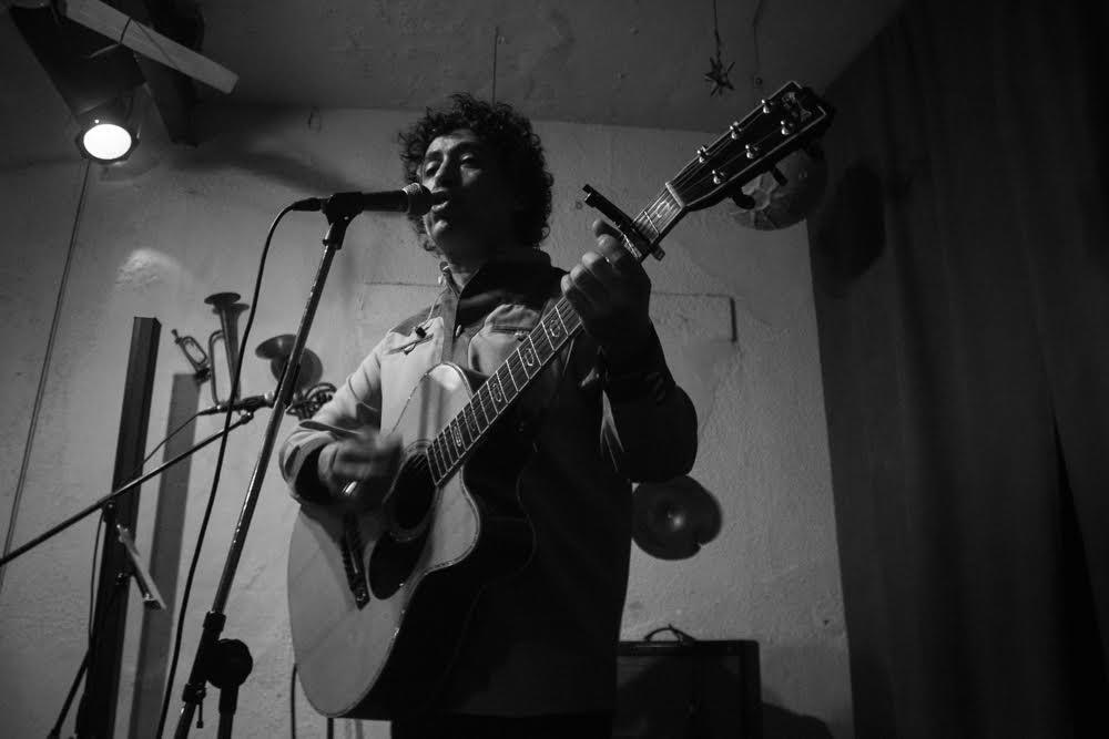 El cantautor chileno Manuel García. Foto: Alejandra Arriero