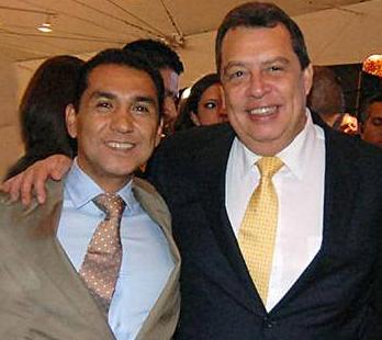 José Luis Abarca, ex alcalde de Iguala, y Ángel Aguirre, ex gobernador de Guerrero.