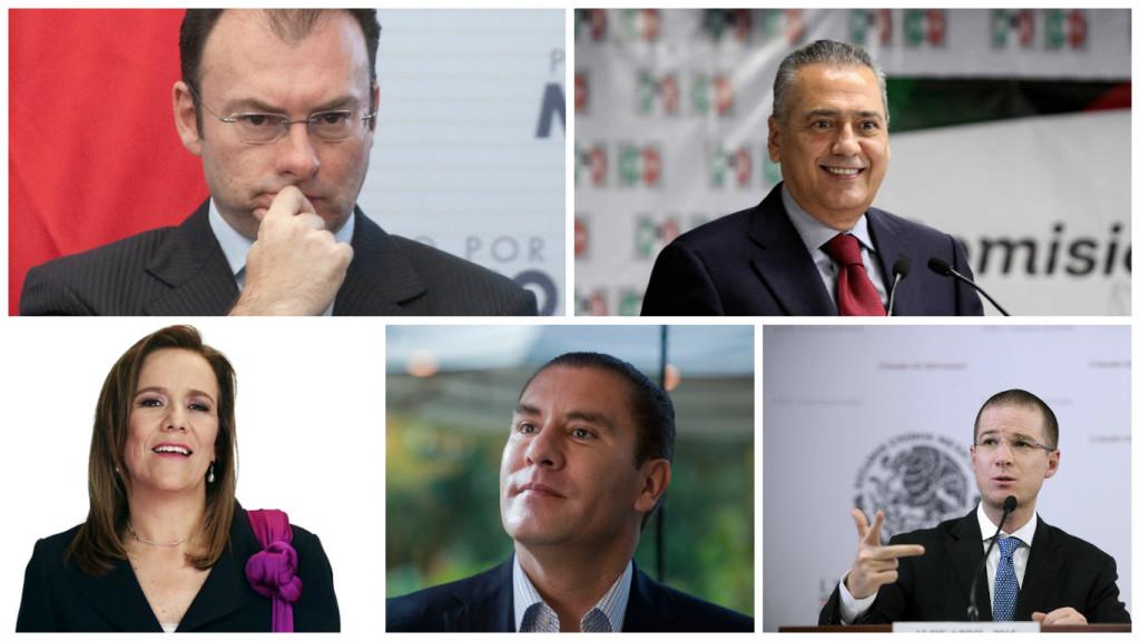 Los candidatos del bipartidismo mexicano.