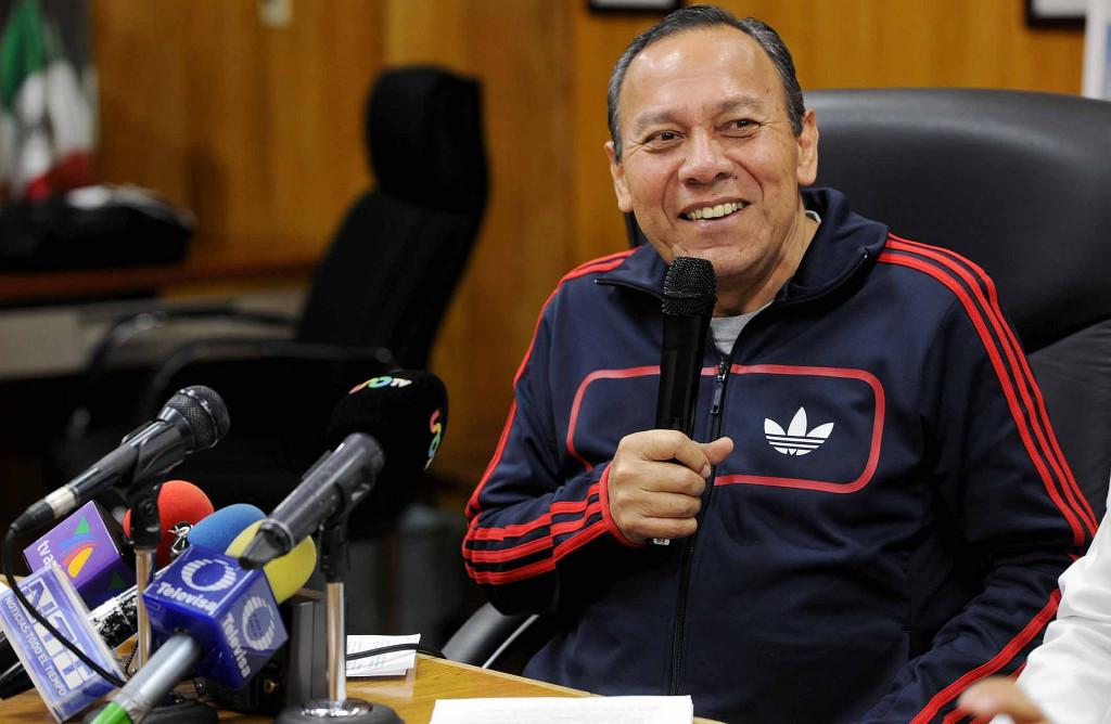 El diputado del PRD, Jesús Zambrano. Foto: Especial