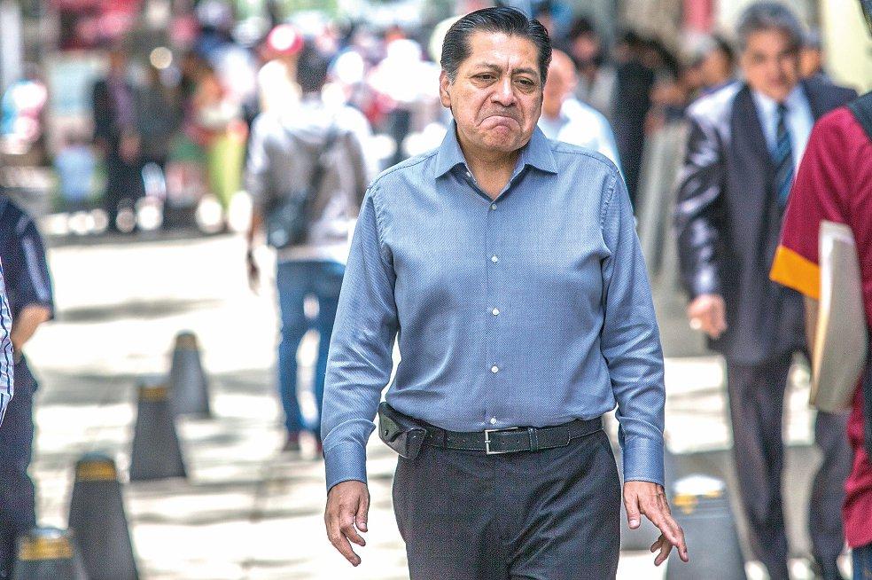 Héctor Bautista López, líder de la casi extinta corriente ADN del PRD.