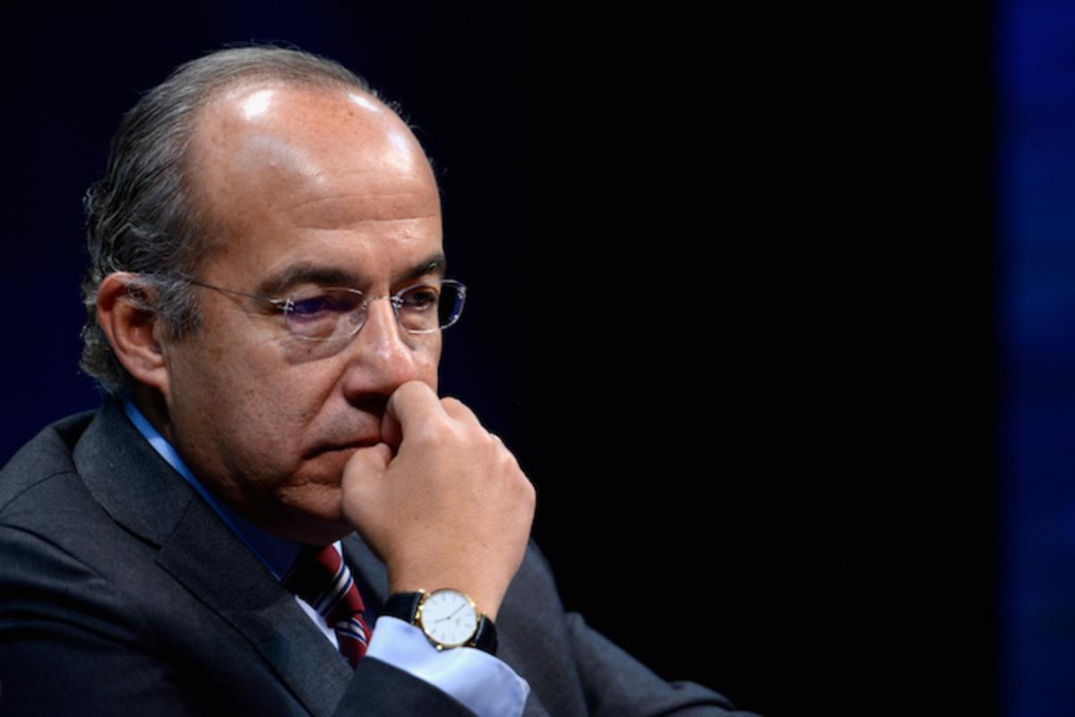 El ex presidente de México, Felipe Calderón. Foto: Especial