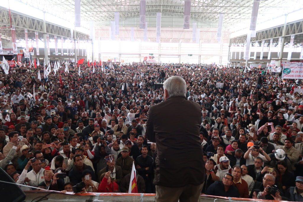 Andrés Manuel López Obrador, en Zacatecas.