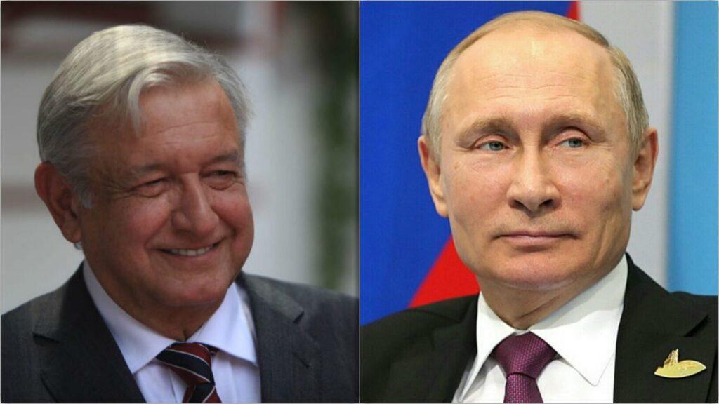 AMLO acepta invitación para visitar Rusia y reunirse con Putin