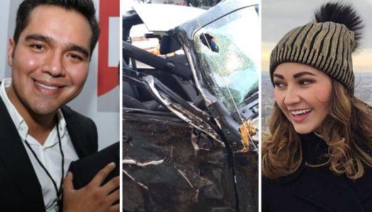 Junior del PRI abandona a su novia fallecida tras chocar su automóvil