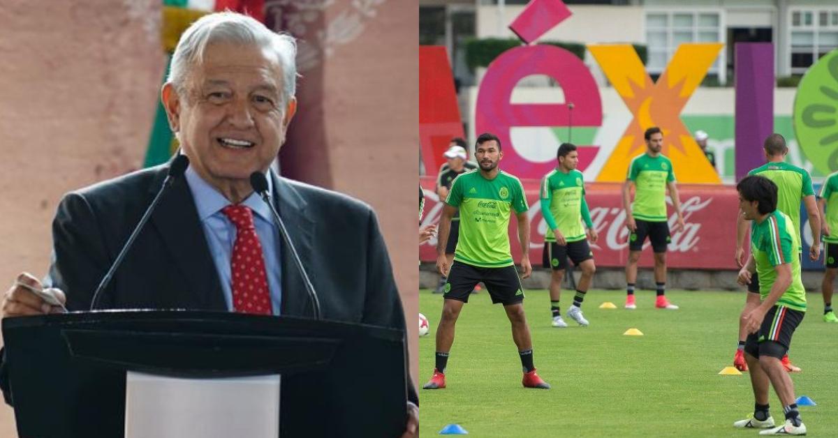 AMLO retira patrocinio a la Selección Mexicana