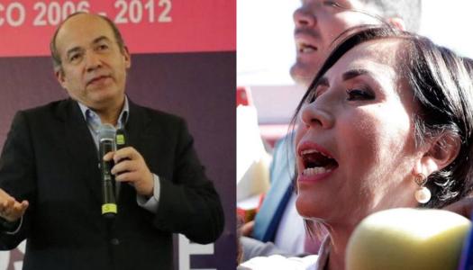 """Calderón defiende a Rosario Robles: la encarcelaron por """"venganza"""""""