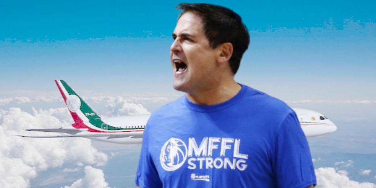 Mark Cuban ¿nuevo dueño del avión presidencial mexicano?