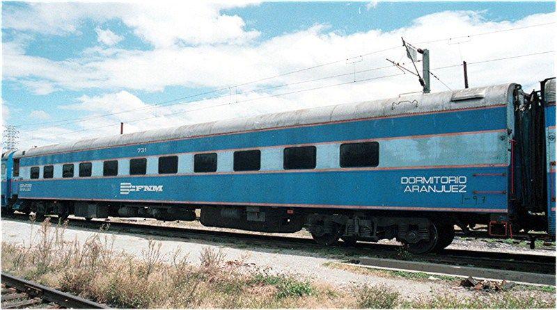 Tren de pasajeros en México