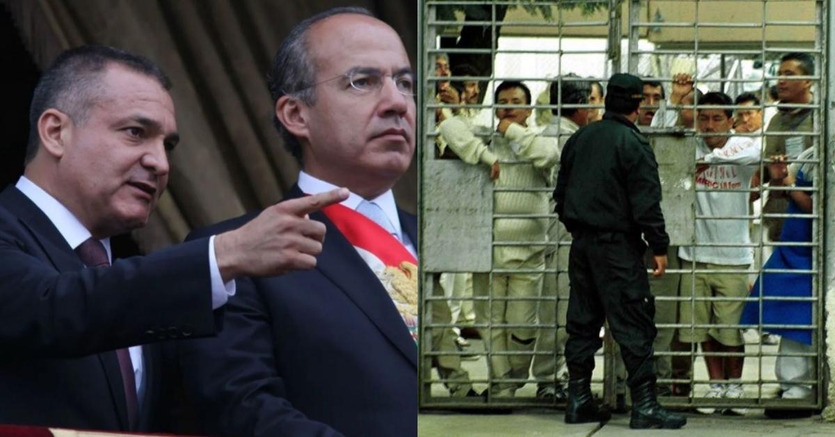 Garcia Luna, Calderon, cárceles mexicanas